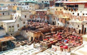 A Moroccan cityscape
