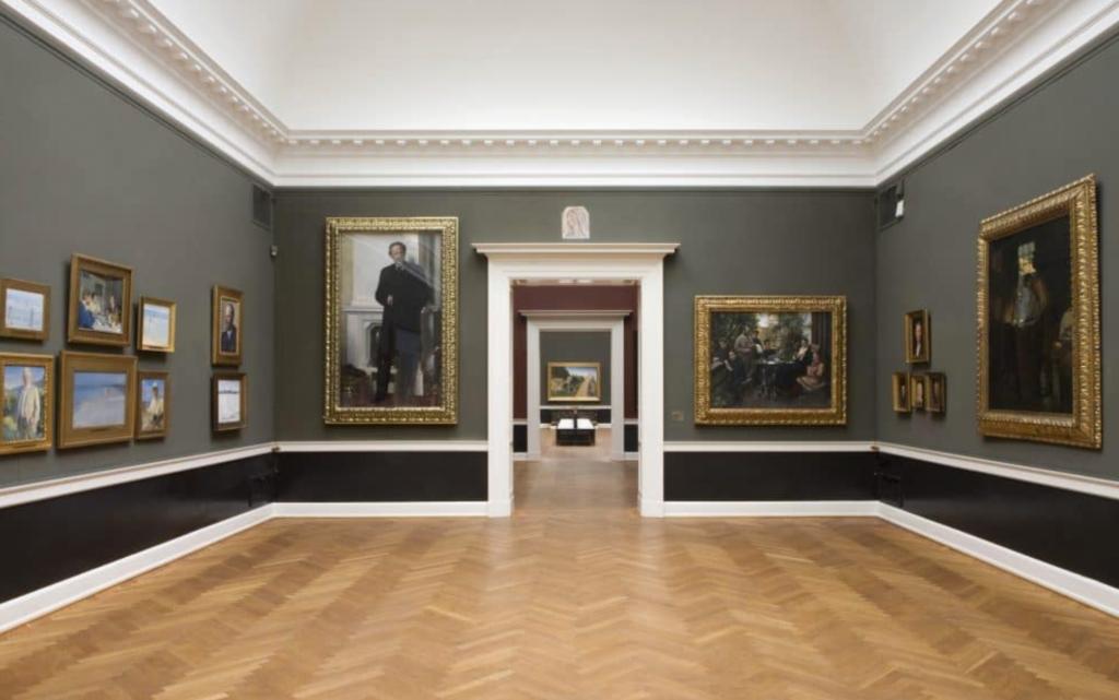 Interior of the Hirschsprung Collection