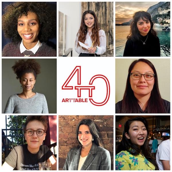 Virtual: Meet the 2020 ArtTable Fellows!