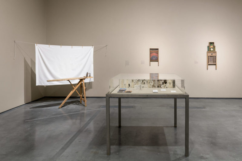 Installation shot of Betye Saar exhibition