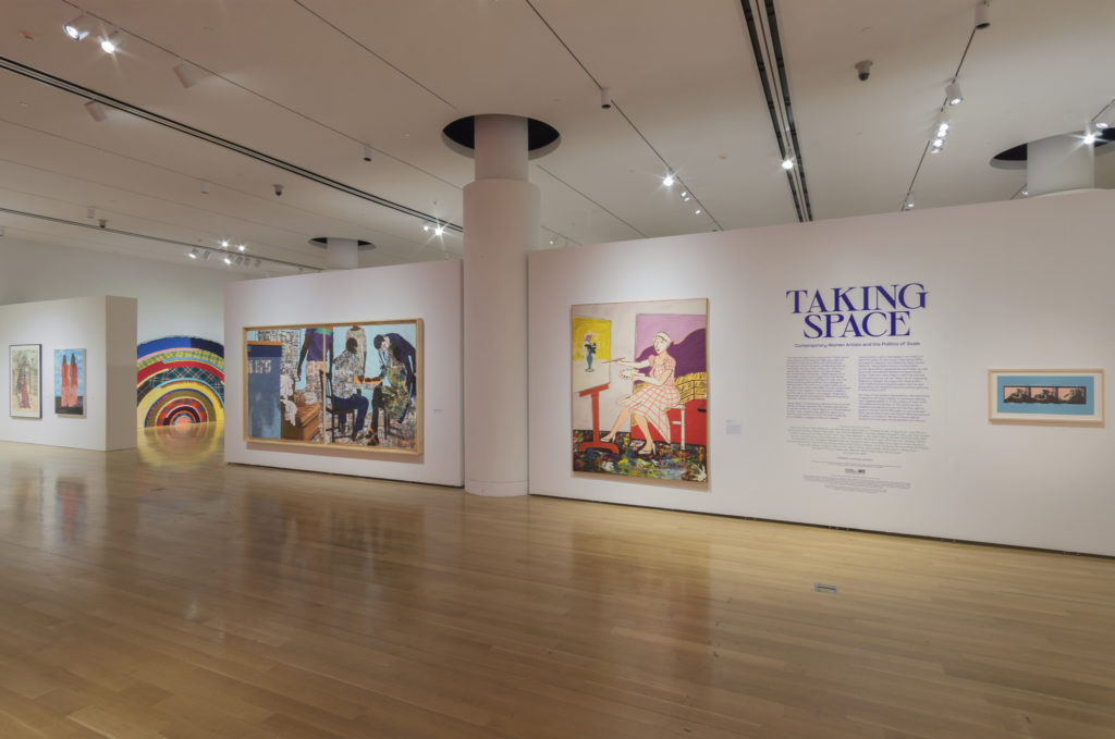 Taking Space Installation View