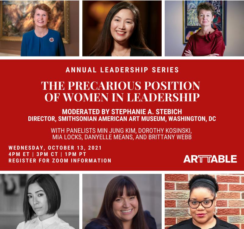 Virtual   Annual Leadership Series – The Precarious Position of Women in Leadership