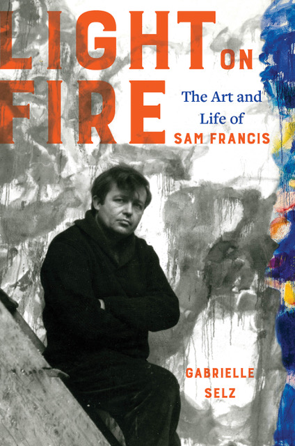 Book cover of 'Light on Fire' by Gabrielle Selz